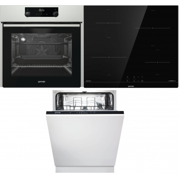 Kuhalni set Gorenje Trio mix 60 (BO737E24X + IT640BSC + GV62010)