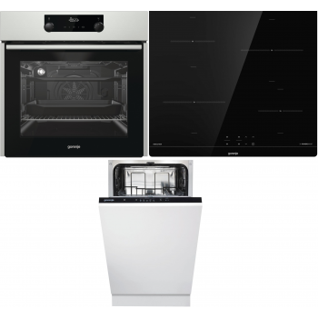 Kuhalni set Gorenje Trio mix 45 (BO737E24X + IT640BSC + GV52010)